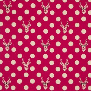 echino-canvas-fabric-Buck-stag-with-glasses-pink-168409-2