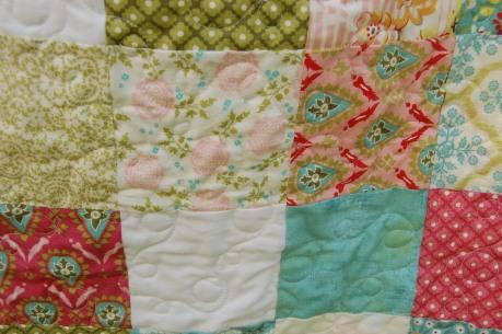 hello luscious quilt