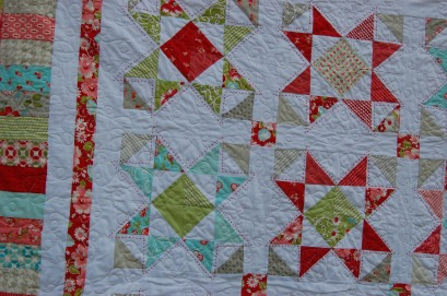 loop and leaf quilting